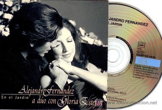 ALEJANDRO FERNANDEZ Y GLORIA ESTEFAN - CD Single - PROMOCIONAL - Made in  Austria - Nuevo!!