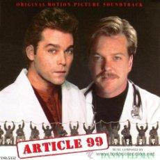 CDs de Música: ARTICLE 99 / DANNY ELFMAN CD BSO. Lote 17243559