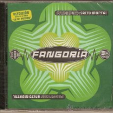 CDs de Música: FANGORIA CD SALTO MORTAL CON BONUS VIDEO ( ALASKA Y DINARAMA ). Lote 27448795