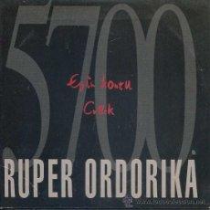 CDs de Música - RUPER ORDORIKA / Egin kontu - Crack (CD Single 1995) - 17304338