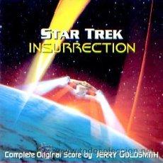 CDs de Música: B.S.O. ORIGINAL * STAR TREK: INSURRECTION * (27 TRACKS/SCORE COMPLETO). JERRY GOLDSMITH. NUEVA.. Lote 25332987