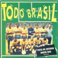 CDs de Música - TODO BRASIL / Festa do interior - Massa real (CD Single 1994) - 17448897