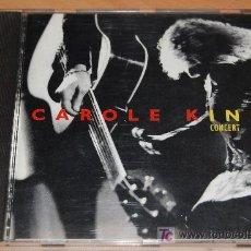 CDs de Música: CD - CAROLE KING IN CONCERT LIVE - 1994 -. Lote 18178829
