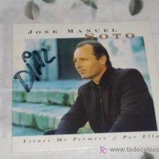CDs de Música: MUSICA GOYO - CD SINGLE - JOSE MANUEL SOTO - TIENES MI PERMISO - *GG99. Lote 21806720
