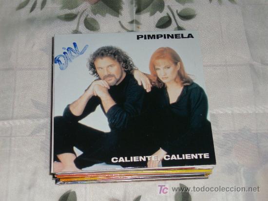 MUSICA GOYO - CD SINGLE - PIMPINELA - CALIENTE CALIENTE - RARO - POP *BB99 (Música - CD's Melódica )