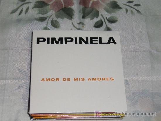 MUSICA GOYO - CD SINGLE - PIMPINELA - AMOR DE MIS AMORES - POP *DD99 (Música - CD's Melódica )