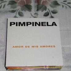 CDs de Música: MUSICA GOYO - CD SINGLE - PIMPINELA - AMOR DE MIS AMORES - POP *DD99. Lote 21824494