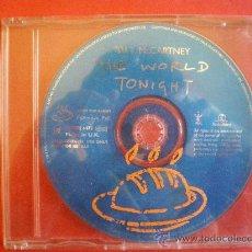 CDs de Música: PAUL MCCARTNEY THE WORLD TONIGHT PROMOCIONAL FROM ALBUM FLAMING PIE BEATLES. Lote 26951891