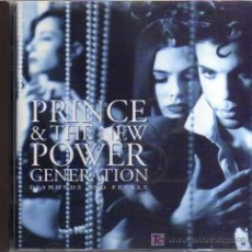 CDs de Música: CD- PRINCE & THE NEW POWER GENERATION - DIAMONDS AND PEARLS. Lote 17707054