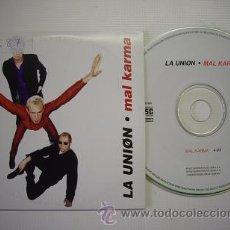 CDs de Música: CD SINGLE 'MAL KARMA' - LA UNION. Lote 17859104