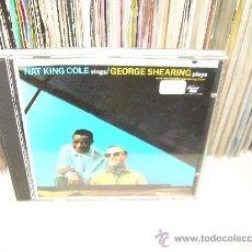 CDs de Música: NAT KING COLE & GEORGE SHEARING - NAT KING COLE SINGS / GEORGE SHEARING PLAYS. Lote 17860196