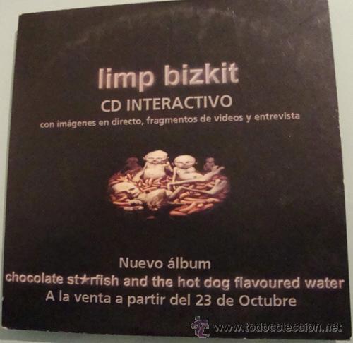 LIMP BIZKIT - CDSINGLE INTERACTIVO - PROMO (Música - CD's Rock)