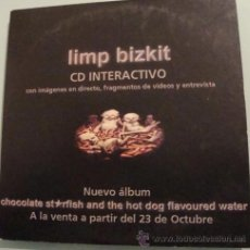 CDs de Música: LIMP BIZKIT - CDSINGLE INTERACTIVO - PROMO. Lote 18005705