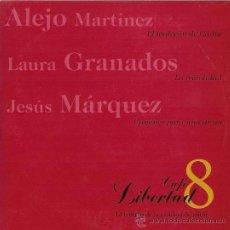 CDs de Música: ALEJO MARTÍNEZ, LAURA GRANADOS, JESÚS MÁRQUEZ - CAFÉ LIBERTAD, 8 - CD SINGLE. Lote 18123285