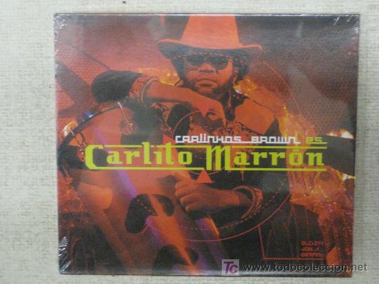 CARLINHOS BROWN ES -CARLITO MARRÓN- NUEVO PARA ESTRENAR-IMPRESCINDIBLE (Música - CD's World Music)
