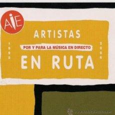CDs de Música: ARTISTAS EN RUTA - 2006 - DOBLE CD. Lote 26782497