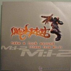 CDs de Música: LIMP BIZKIT - TAKE A LOOK AROUND - CDSINGLE 2 TEMAS. Lote 18173337