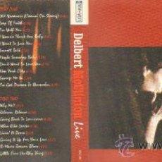 CDs de Música: DELBERT MCCLINTON LIVE CD/ JAZZ- 075. Lote 18212883