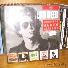 CDs de Música: LOU REED ORIGINAL ALBUM CLASSICS 5XCD TRANSFORMER LOU REED BERLIN SALLY CANT GO CONEY ISLAND BABY. Lote 18336072