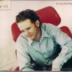 CDs de Música: CD SINGEL ANGEL SIMPLY RED. Lote 18480866