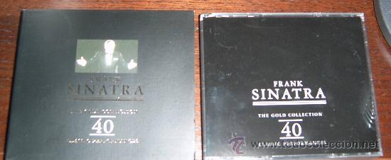CDs de Música: .:·*·:.Frank Sinatra - The Gold Collection - Doble CD - Edición de Lujo - Sin Usar .:·*·:. - Foto 1 - 195337238