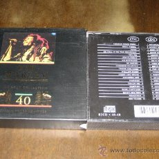 CDs de Música: BOB MARLEY - THE GOLD COLLECTION - 40 CLASSIC PERFORMANCES - 2CDS. Lote 27372250