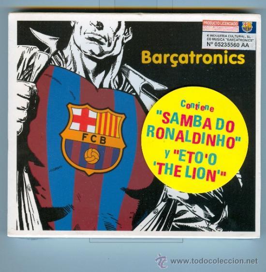 CD BARÇATRONICS - SANG BLAUGRANA, BARÇA SAMBA TEAM, ETO´O THE LION, ANDALE ... (Música - CD's Otros Estilos)