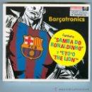 CDs de Música: CD BARÇATRONICS - SANG BLAUGRANA, BARÇA SAMBA TEAM, ETO´O THE LION, ANDALE .... Lote 25274315