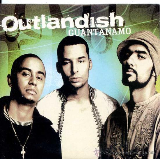OUTLANDISH / GUANTANAMO (3 VERSIONES) (CD SINGLE 2002) (Música - CD's Hip hop)