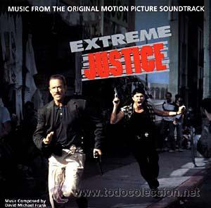 EXTREME JUSTICE / DAVID MICHAEL FRANK CD BSO (Música - CD's Bandas Sonoras)