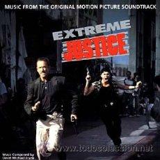 CDs de Música: EXTREME JUSTICE / DAVID MICHAEL FRANK CD BSO. Lote 19145517