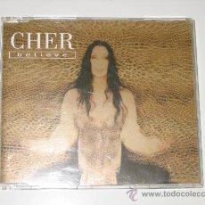 CDs de Música: CHER - BELIEVE - CD SINGLE. Lote 25828267