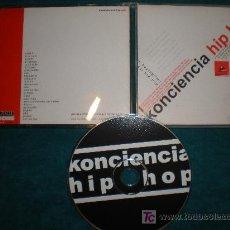 CDs de Música: KONCIENCIA HIP HOP - CD. Lote 25296875