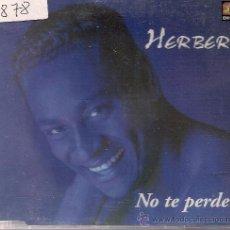 CDs de Música: CD SINGEL HERBERT NOTE PERDERE . Lote 19508988