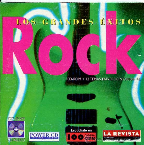 LOS GRANDES ÉXITOS ROCK / VARIOS (CD 13 TEMAS - 1997) (Música - CD's Rock)