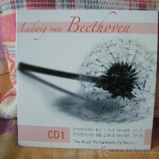 CDs de Música: LUDWIG VAN BEETHOVEN SYMPHONY Nº. 1 & 2 BARRY WORDSWORTH, JAMES LOCKHART. Lote 19792769