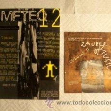CDs de Música: MFTEQ MUSIC FROM THE EMPTY QUARTET 12 LIBRO FANZINE + CD HYPERIUM ARTISTS EDICION LIMITADA GOTHIC. Lote 26915169