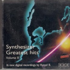 CDs de Música: CD SYNTHESIZER GREATEST HITS VOLUME II. Lote 19851787