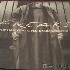 CDs de Música: CD/FREAKS/THE MAN WHO LIVED UNDERGROUND 2003 MUSIC FOR FREAKS LTD/ENGLAND PEPETO. Lote 20097335