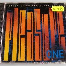 CDs de Música: HEAVEN SEVENTEEN - CD - PLEASURE ONE - 9 TRACKS - 1986 VIRGIN RECORDS. Lote 27176958