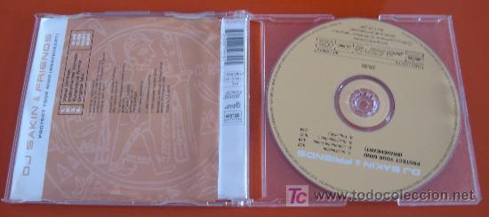 CDs de Música: DJ SAKIN & FRIENDS - PROTECT YOUR MIND - SINGLE - 4 VERSIONES - 1998 INTERCORD - CD - Foto 2 - 23263483