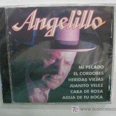 CDs de Música: CD-ANGELILLO-100% FLAMENCO-DESCATALOGADO-NUEVO PRECINTADO. Lote 27021931