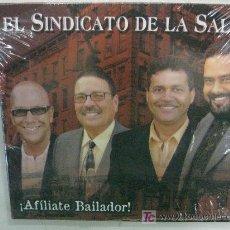CDs de Música: CD-EL SINDICATO DE LA SALSA-AFÍLIATE BAILADOR-DESCATALOGADO-NUEVO PRECINTADO. Lote 26658616