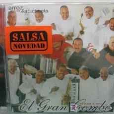 CDs de Música: CD-EL GRAN COMBO DE PUERTO RICO-ARROZ CON HABICHUELA-DESCATALOGADO-NUEVO PRECINTADO. Lote 26972594