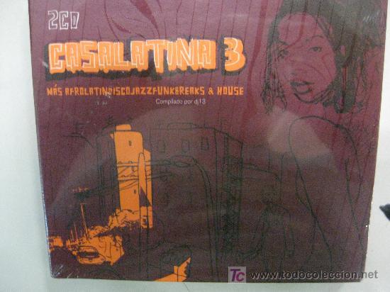 CD-RECOPILATORIO CASA LATINA 3- 2CDS-DESCATALOGADO-NUEVO PRECINTADO (Música - CD's Latina)