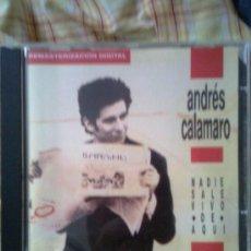 CDs de Música: ANDRÉS CALAMARO - NADIE SALE VIVO DE AQUÍ (1989) - EDICIÓN LIMITADA EN CD -. Lote 20352883