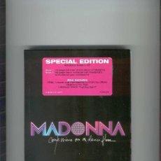 CDs de Música: MADONNA / CONFESSIONS ON A DANCE FLOOR/ SPECIAL EDITION/ CD + 2 LIBROS EN BOX SET. Lote 20645034