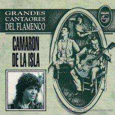 CDs de Música: CAMARÓN DE LA ISLA - GRANDES CANTAORES DE FLAMENCO - CD, 1994 (23 CANTES, VER FOTO ADICIONAL). Lote 27208868