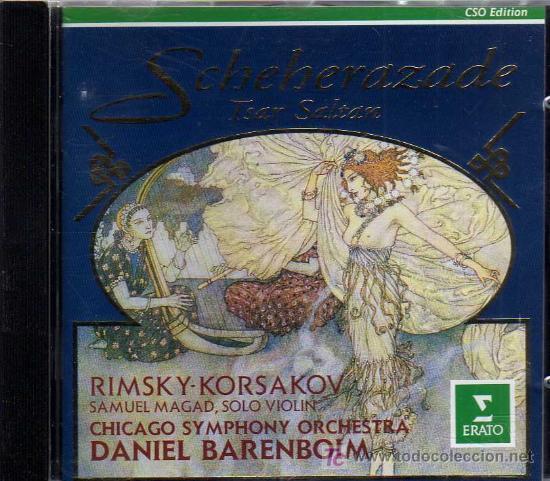 CD - SCHEHERAZADE - TSAR SALTAN - RIMSKY KORSAKOV (Música - CD's Clásica, Ópera, Zarzuela y Marchas)
