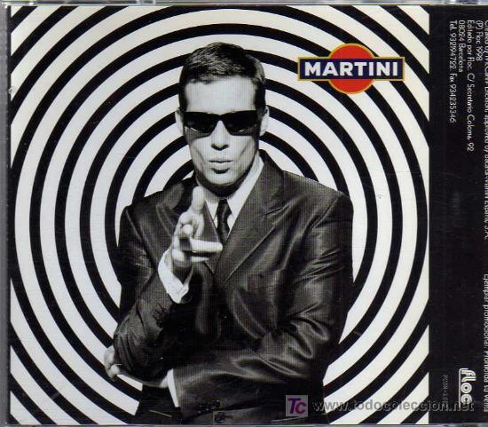 CDs de Música: CD ROM PROMOCIONAL - MARTINI - Foto 2 - 20887400